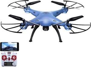 WHAT A BLAST!! -- FLY A DRONE WITH REMOTE VIEWING  AND EXPLORE THE WORLD WITH LIVE ON-BOARD CAMERA -- AMAZING PRICE!
