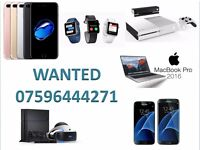 WANTED - IPHONE 7 PLUS 6S PLUS SE APPLE WATCH IPAD AIR MINI MACBOOK PRO TOUCH BAR GOOGLE PIXEL XL