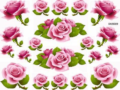 ThE BeST PinK CaBBaGe RoSeS SHaBbY WaTerSLiDe DeCALs (The Best Water Slides)