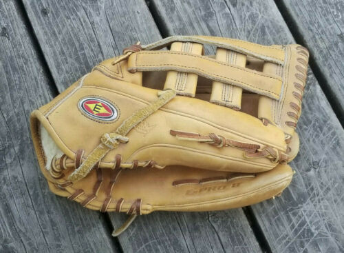 "Easton E PRO 8 Professional 11"" Baseball Glove RHT Deerskin Made In USA"