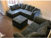SOFA ON SALE WITH SUPPER FAST DELIVERY DYLAN JUMBO CORD CORNER & 3+2 SOFA SET AVAILABLE IN STOCK