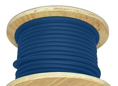 50 20 Awg Welding Cable Blue Flexible Outdoor Wire
