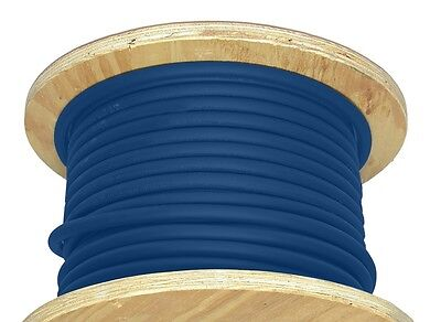 100 20 Awg Welding Cable Blue Flexible Outdoor Wire Durable New