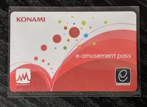 Konami e-AMUSEMENT PASS Card Amusement IC e-Amuse Bemani DDR IIDX SDVX New