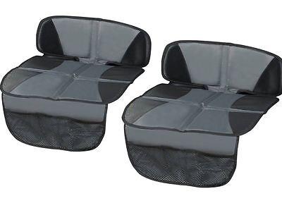 2x Kindersitzunterlage Rücksitzschoner Sitzschoner Kindersitz Unterlage