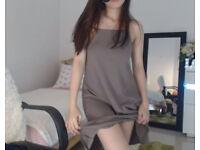 Nice beige dress size 10