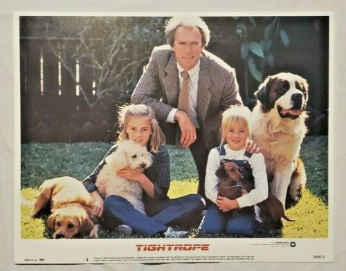 1984 TIGHTROPE 8 lobby cards CLINT EASTWOOD & GENEVIEVE BUJOLD  movie posters