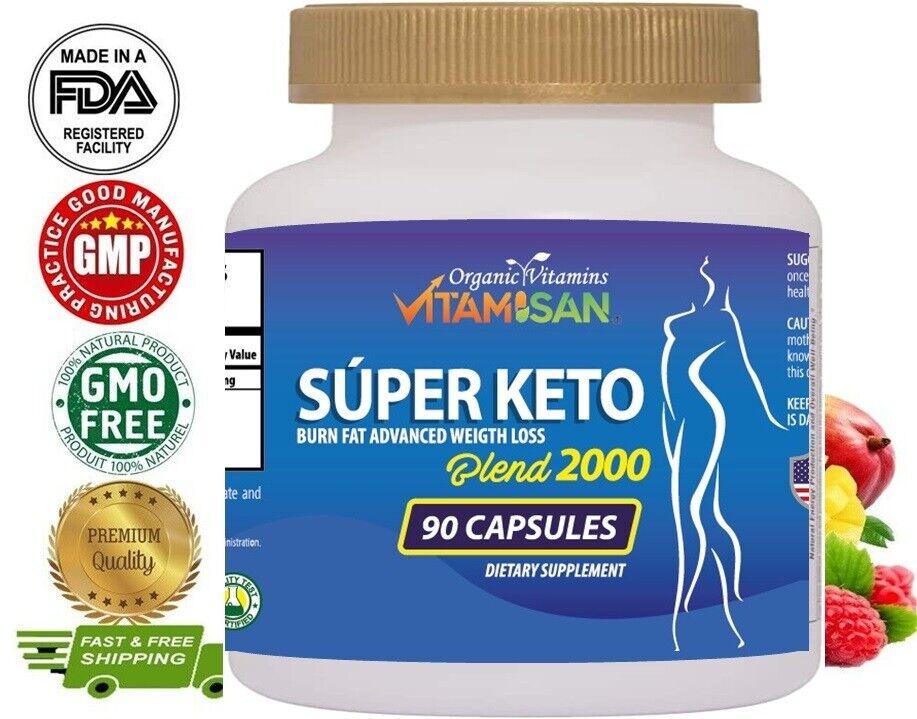 Keto Advanced Weight Loss Pills Supplement Fast Keto Diet For Men Woman 90 caps 2