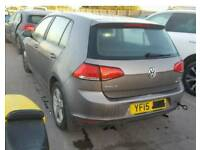 2015 VOLKSWAGEN GOLF TSI DAMAGED REPAIRABLE