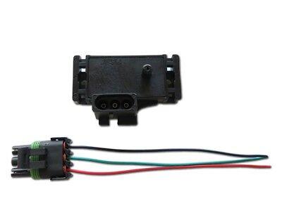 GM Delco 2-Bar MAP Sensor Holden Commodore Supercharger Turbo Haltech Gm 2 Bar Map-sensor