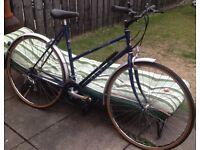 Bicycle lovely vintage style ladies Raleigh Pioneer Commuter £55