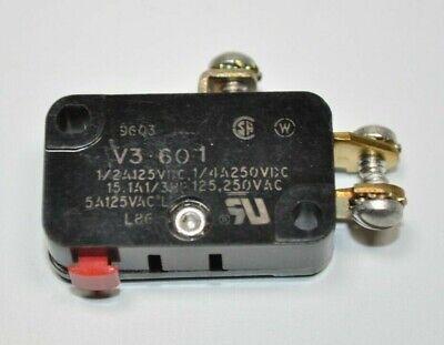 New Honeywell Microswitch V3-601 Snap Action Switch Fits Hardinge Dsm-a Lathe