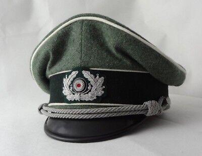 Schirmmütze Offizier Wehrmacht Infanterie WK2 Gr.58,5cm