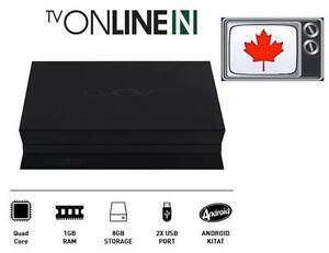 iptvservice.ca Sells Latest AVOV TVONLINE N 4K IPTV Box $139.**IPTV Store Carry All IPTV Box,Mag254/256 AVOV TVONLINE N*