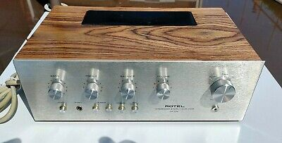 Rotel RA212 Vintage Integrated Solid State Amplifier