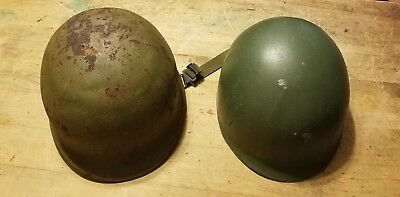 Vietnam Front Seam M1 Helmet With Liner for sale  Shipping to Ireland