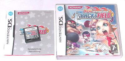 3 Lite Track (Spiel: NEW I NTERNATIONAL TRACK & FIELD Nintendo DS + Lite + Dsi + XL + 3DS 2DS)
