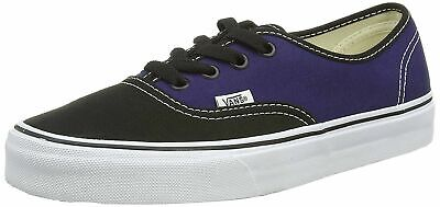 VANS Authentic Men Shoes 2Tone Black Patriot Blue Sneakers 00AIGEH
