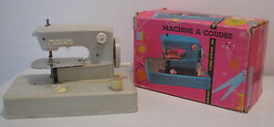 Vecchia-macchina-per-cucire-anni-039-60-MaCousette-Nahmaschine-sewing-machine