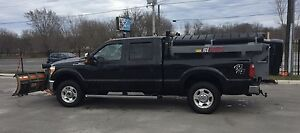 2012 F350 with snow plow package