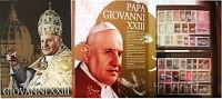 Pontificato Giovanni Xxiii - Tutti I Francobolli In Elegante Folder -  - ebay.it