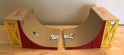 Tech Deck Half Pipe Skate Park Tony Hawk Ramps