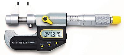 .2-1.20electronic Digital Inside Micrometer .00005resolution Full Certs 2 Yr