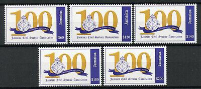 Jamaica Stamps 2019 MNH Civil Service Association 100 Years Emblems 5v Set