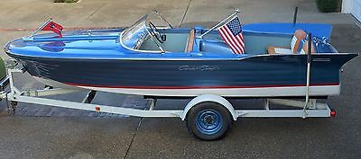 - 1959 CHRIS CRAFT 19' SILVER  ARROW  RESTORED, RARE & BEAUTIFUL CLASSIC BOAT!