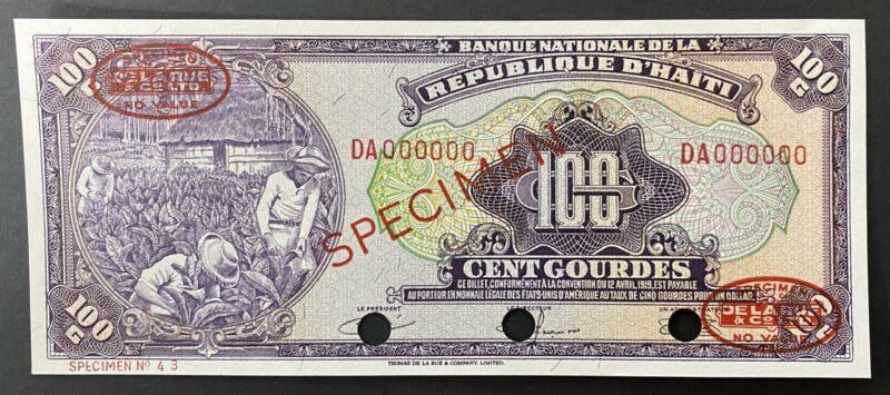 Haiti Specimen P 195s