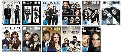Bones Staffel 1-11 (1+2+3+4+5+6+7+8+9+10+11) DVD Set NEU OVP Die Knochenjägerin