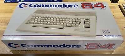Commodore 64 Computer, Boxed, Tested, With power Supply And Scart TV cable