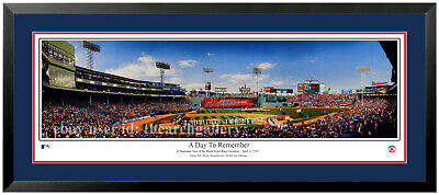 🏆 Boston Red Sox World Series Ring Ceremony A Day to Remember 2005 Framed 🏆