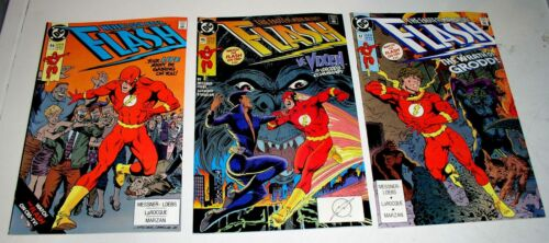 FLASH  #44 #46 and #47  RUN OF THREE COPPER AGE ISSUES