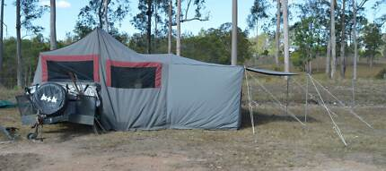 Off-Road Camper Trailer 2003 Clarke Explorer Chatsworth Gympie Area Preview