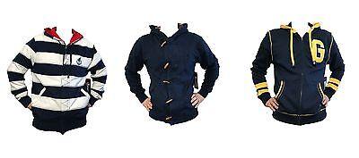 Generra Men's Design Hoodie Full Zip Button Hoodie Sweatshirt 100% Cotton M-2XL