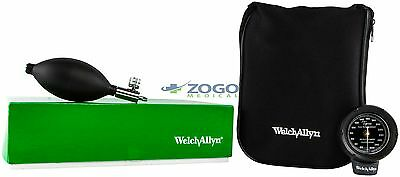 Welch Allyn Aneroid Ds48 Blood Pressure W Adult Cuff And Zipper Case