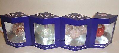 Ariana Grande Mini Perfume Set 7 5Ml Ari Sweetlike Candy Moonlight Parfum  25 Oz