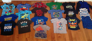Boys Size 2 full set of summer clothes-41 pieces!