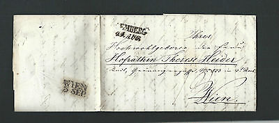 Österreich 1842 - Alter Beleg Lemberg nach Wien