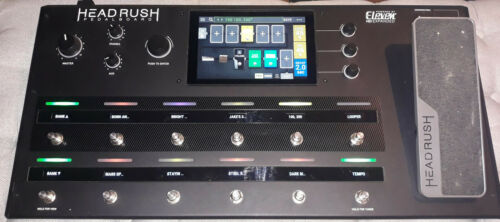 Head Rush Pedalboard Amp and FX Modeling Processor **Pre-Owned**