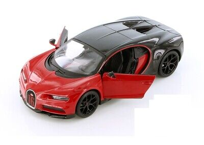 Maisto Bugatti Chiron 1:24 Diecast Model Toy Car 34514 RED New without Box Maisto Toy Cars