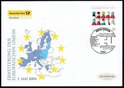 BRD 2004 Deutsche Post FDC  Erweiterung der Europäischen Union