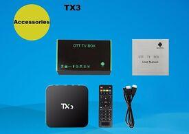 TX3 TV Box 64Bit Android 5.1 OS