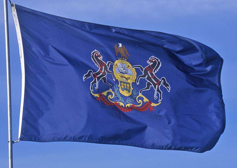 pennsylvania flag 3 x 5 brand nylon