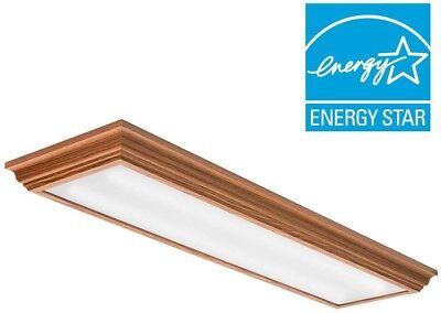 Lithonia Lighting Oak 4-Ft LED Flush Mount, 4000K, 35.5W, 2,