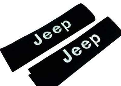 Cherokee Cotton Belt (2pcs NEW Sport LOGO Cotton Seat Belt Cover Shoulder Pad Cushion For JEEP)