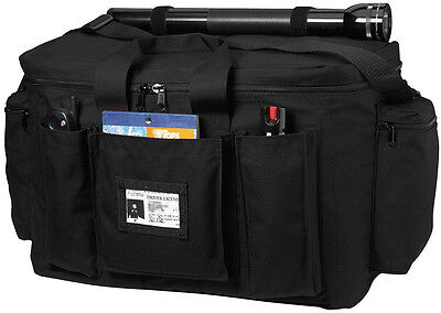 Black Extra Large Equipment Gear Bag for Police Law Enforcement
