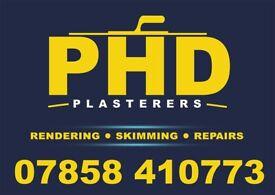 P. H. D plasterers