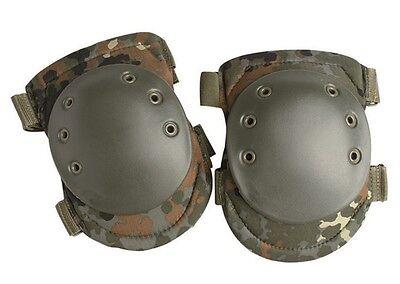 Knieschoner flecktarn Knieschützer Protektoren Knieschutz aus Spezialschaum